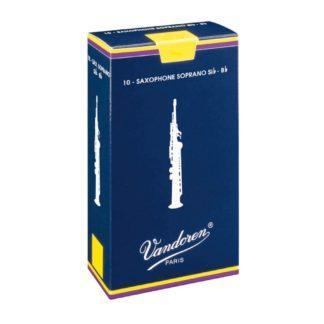 Vandoren Traditional sopran-saxofonblad styrke 2 (10 stk.)